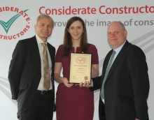 Considerate Constructors Bronze Award For Jessup