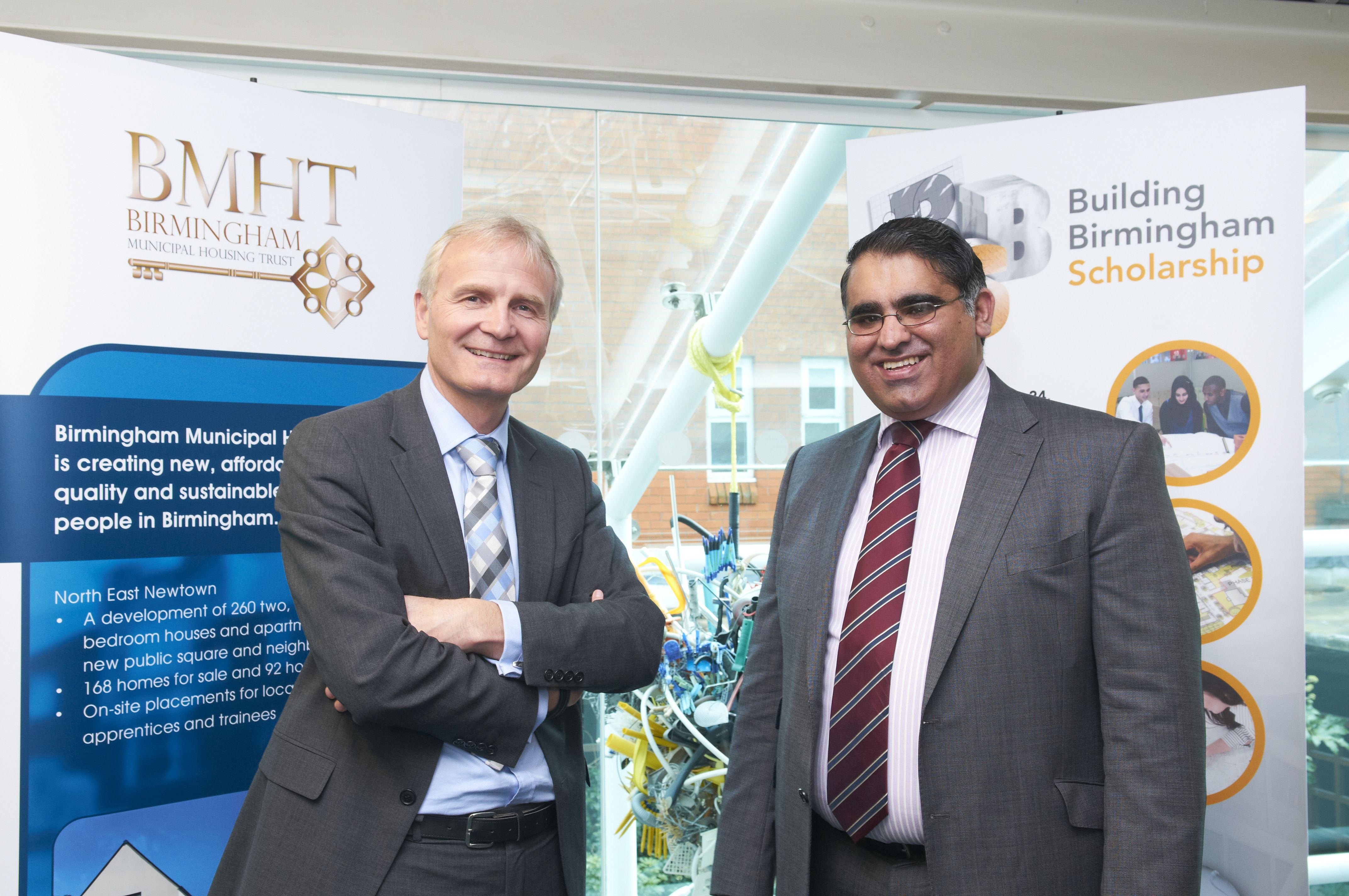 Clive Jessup meets Cllr Tahir Ali