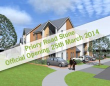 Priory Road, Stone, official launch 25th March 2014