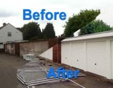 Transforming garage sites