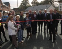 Official launch of Middleton Road scheme, Oswestry