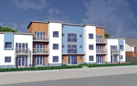 Ashfields new road newcastle-under-lyme plots 13 to 34 front