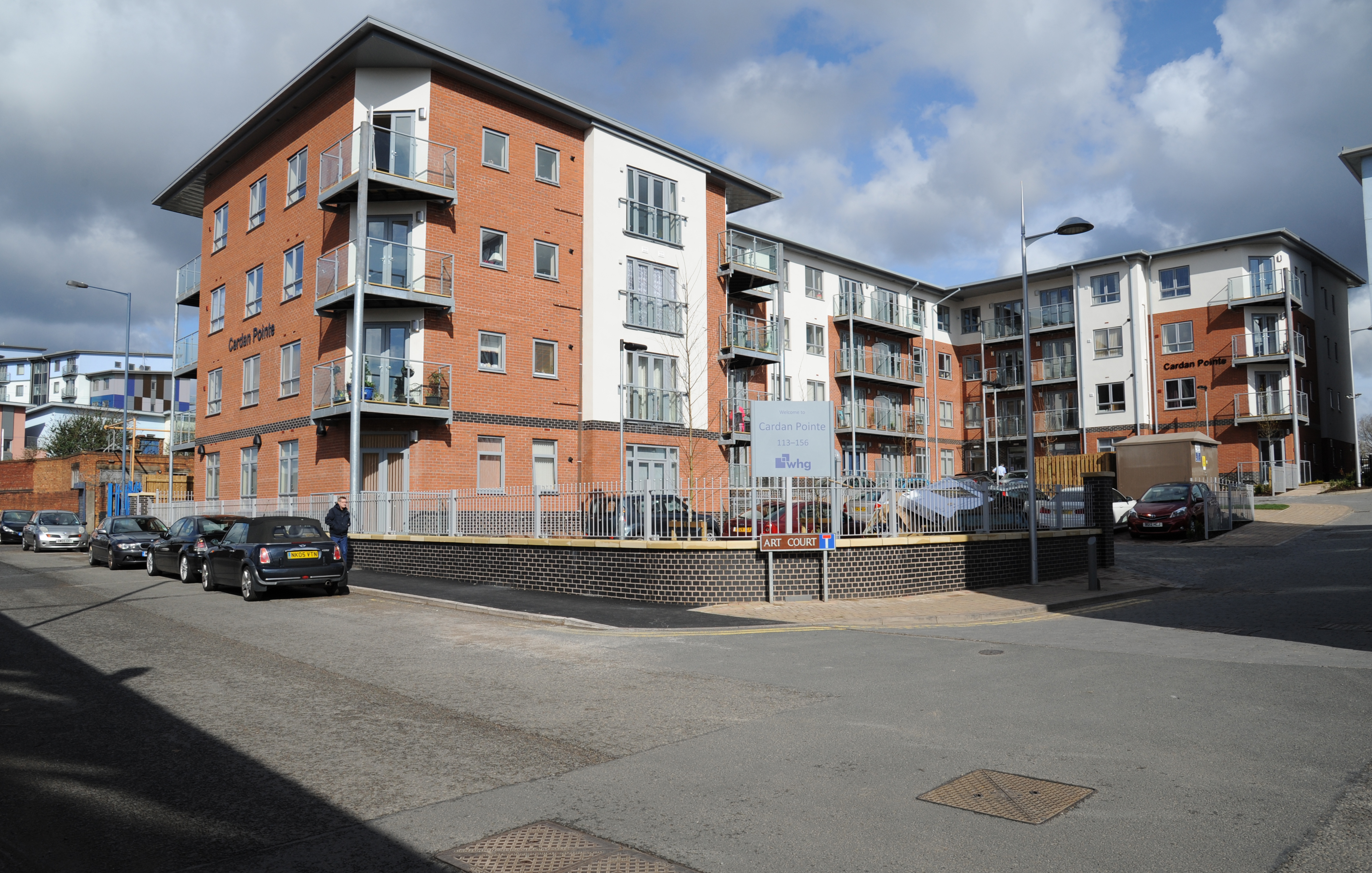 Charles Street walsall over 55s apartments cardan pointe
