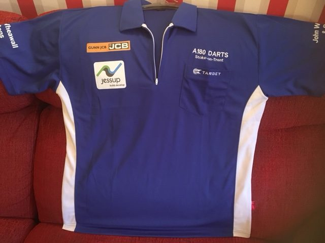Jessup sponsors Wheawall darts